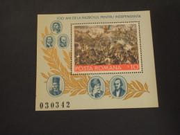 ROMANIA - BF 1977 QUADRO - NUOVO(++) - Blocs-feuillets