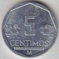 @Y@   Peru  5 Centavos  2010          (3432) - Peru