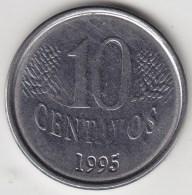 @Y@    Brazilië  10 Centavos  1995       (3436) - Brésil