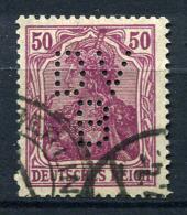98922) DEUTSCHES REICH # 146 I Gestempelt GEPRÜFT Aus 1920, 40.- € - Duitsland
