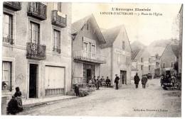 LA TOUR-D'AUVERGNE PLACE DE L'EGLISE - France