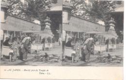 AU JAPON - Marché Près Du Temple De Tokio - Non Classés