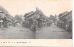 AU JAPON - Un Village Au Hakoni - Non Classés