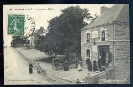 Cpa Du 35  Saint Just  -- La Route De Pipriac    JIP35 - France