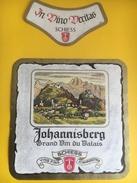 2254 - Suisse Valais Jhoannisberg Schiess - Etiquettes