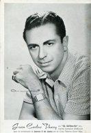 JUAN CARLOS THORRY ACTOR Y DIRECTOR  FIRMADA AUTOGRAFO ZTU.