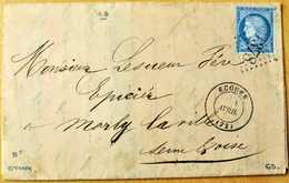 GC 1378 - ECOUEN - Pour Marly La Ville (CL 1031) - 1849-1876: Periodo Classico
