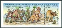 1995 Sierra Leone Dinosauri Dinosaurs Dinosaures Preistorici Prehistoric Prèistoriques Set MNH ** Sie63 - Sierra Leone (1961-...)