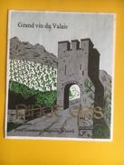 2271 - Suisse Valais Pinot Gris Josef Gassmann Salgesch - Etiquettes