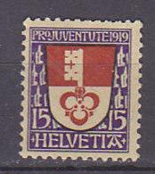 SCHWEIZ  151, Postfrisch **, Pro Juventute 1919 - Pro Juventute