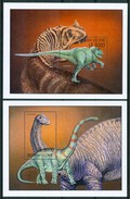 2001 Sierra Leone Dinosauri Dinosaurs Dinosaures Preistorici Prehistoric Prèistoriques Block MNH ** Sie67 - Sierra Leone (1961-...)