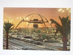 Postcard Theme Building At Night Los Angeles International Airport LAX My Ref B1126 - Los Angeles