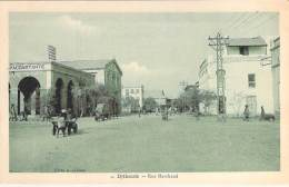AFRIQUE NOIRE - DJIBOUTI : Rue Marchand - CPA - Black Africa - Djibouti