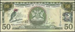 TRINIDAD & TOBAGO P. 53 50 D 2012 UNC - Trinidad & Tobago
