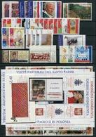 VATICANO - VATICAN - 2004 - Annata Completa - 36 Valori + 3 BF + 1 Libretto - Complete Year - ** MNH/VF - Annate Complete