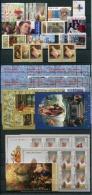 VATICANO - VATICAN - 2005 - Annata Completa - 28 Valori + 7 BF + 1 Libretto - Complete Year - ** MNH/VF - Annate Complete
