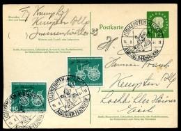 ALLGÄUER FESTWOCHE KEMPTEN Auf Postkarte Bund P49 1961 - Poststempel - Freistempel