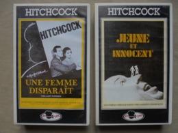 Vintage - Petit Lot De 2 Cassettes VHS - HITCHCOCK - - Collections & Sets