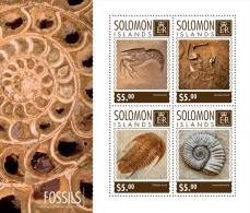 SOLOMON Isl. 2014 - Shrimp Fossils - YT 2524-7; CV = 8 € - Schaaldieren