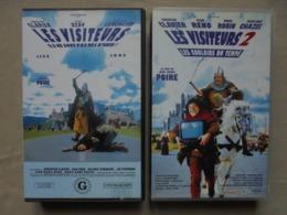 Petit Lot De 2 Cassettes VHS - LES VISITEURS I & II - - Comedy