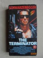 Cassette VHS - THE TERMINATOR - Schwarzenegger - - Sciences-Fictions Et Fantaisie