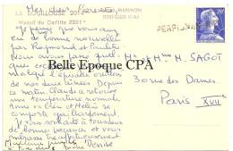 66 - MONT-LOUIS - La BOUILLOUSE 2014m - Massif Du Carlitte 2921m ++++ Obliteration PERPIGNAN R. F. ++++ RARE - France