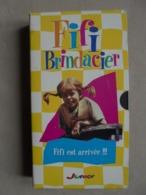 """Ancien - Cassette VHS - FIFI BRINDACIER """"Fifi Est Arrivée!!!"""" - - TV-Serien"""