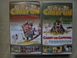 "Ancien Coffret MARK & SPENCER 2 Cassettes - ""Carry On"" - VO Anglaise - Enfants & Famille"