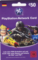 Gift Card  - - -  Germany  - - -  PlayStation - Gift Cards