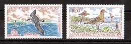 SPM - 1993 - Poste Aérienne N° 72 Et 73 - Neufs ** - Oiseaux - Neufs