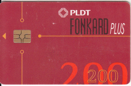 PHILIPPINES(chip) - PLDT Telecard 200 Pesos(matt Surface), Chip GEM3.3, Exp.date 31/12/01, Used - Filippine