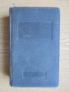 Ancien Agenda, Aide-Mémoire Des Juges De Paix 1937 Par Paul SIMON - Calendriers