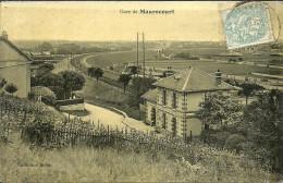 MAURECOURT  -- Gare                       -- Robin (papier Glacé) - Maurecourt