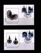 Makedonien / Macedonia 2000  Filigree Jewellery FDC - Mazedonien