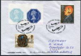 1996 GB Imperial War Museum Duxford Air Show 'Battle Of Britain' Cover - Briefe U. Dokumente
