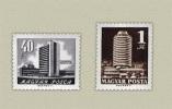 HUNGARY 1970 ARCHITECTURE City BUILDINGS - Fine Set MNH - Ungebraucht