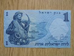 Ancien Billet De Banque - Bank Of Israël - 1 SHEKEL - 1958 - Israel