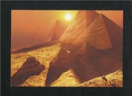 Etihad Airways Abu Dhabi Postcard Cairo Picture View Card - Dubai
