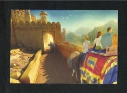 Etihad Airways Abu Dhabi Postcard Jaipur Ancient Picture View Card - Dubai