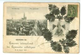 13461 STRASBOURG  : Souvenir Du Concours Interntional Des Gymnastes Catholiques Du 6 Au 8 Août 1921 ACHAT DIRECT !! - Strasbourg