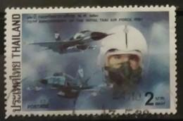 TAILANDIA 1987 The 72nd Anniversary Of Royal Thai Air Force. USADO - USED - Tailandia