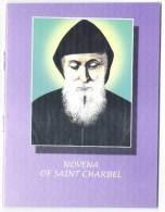 Religious Booklet NOVENA OF SAINT CHARBEL (prayer Booklet) Lebanon Liban Libano - Religion & Esotericism
