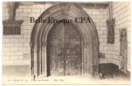 66 - ELNE - Porte Du Cloître +++++ ND Phot., #8 ++++++ RARE - Elne