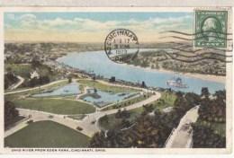 Etats Unis  OH - Cincinnati  - Ohio River From Eden Park  : Achat Immédiat - Cincinnati