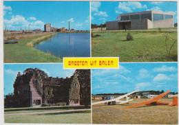 Groeten Uit Balen Keiheuvel Aerodrome Airport Grand Format Grote Kaart Kerk Gerheide Architect Paul Neefs Modernisme VM - Balen