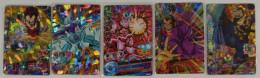Dragon Ball Heroes : 5 Japanese Trading Cards - Dragonball Z