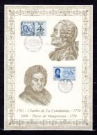 FRANCE FINLANDE 1986 : Encart 1er Jour N°té / Soie Rare (272/1300) Edit° A.M.I.S. . N° YT 2428 + 966  Parf état FDC - Emissions Communes