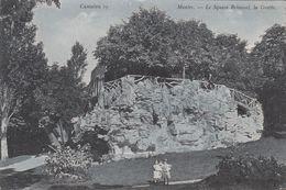 G , Cp , 78 , MANTES , Le Square Brieussel, La Grotte - Mantes La Ville