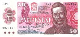 Czechoslovakia - Pick 96 - 50 Korun 1987 - AUnc - Czechoslovakia
