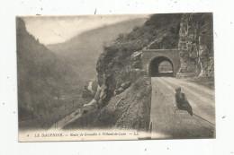 Cp , 38 , Route De GRENOBLE à VILLARD DE LANS , Animée , Voyagée 1913 , Animée - Autres Communes
